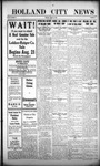 Holland City News, Volume 44, Number 32: August 12, 1915