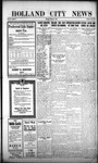 Holland City News, Volume 44, Number 42: October 21, 1915