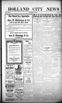 Holland City News, Volume 44, Number 46: November 18, 1915