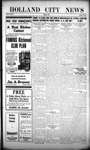 Holland City News, Volume 45, Number 11: March 15, 1916