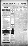 Holland City News, Volume 45, Number 31: August 3, 1916