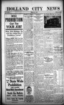Holland City News, Volume 45, Number 44: November 2, 1916 by Holland City News