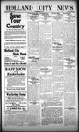 Holland City News, Volume 47, Number 18: May 2, 1918