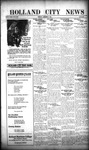 Holland City News, Volume 47, Number 47: November 21, 1918 by Holland City News