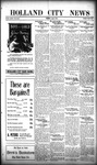 Holland City News, Volume 48, Number 32: August 7, 1919