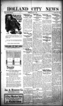 Holland City News, Volume 48, Number 39: September 25, 1919 by Holland City News