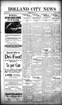 Holland City News, Volume 48, Number 41: October 9, 1919 by Holland City News
