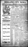 Holland City News, Volume 48, Number 51: December 18, 1919 by Holland City News