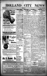 Holland City News, Volume 49, Number 25: June 17, 1920