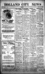 Holland City News, Volume 49, Number 33: August 12, 1920