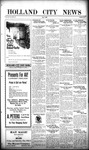 Holland City News, Volume 49, Number 50: December 9, 1920 by Holland City News
