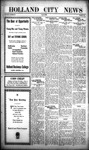 Holland City News, Volume 50, Number 1: December 30, 1920 by Holland City News