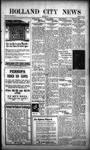 Holland City News, Volume 50, Number 13: March 24, 1921