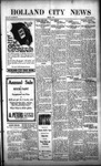 Holland City News, Volume 50, Number 14: March 31, 1921