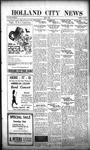 Holland City News, Volume 50, Number 17: April 21, 1921