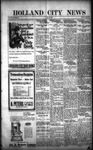 Holland City News, Volume 50, Number 20: May 12, 1921