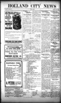 Holland City News, Volume 50, Number 22: May 26, 1921