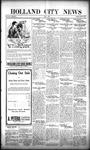 Holland City News, Volume 50, Number 23: June 2, 1921