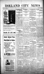 Holland City News, Volume 50, Number 30: July 21, 1921 by Holland City News
