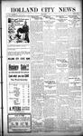 Holland City News, Volume 50, Number 31: July 28, 1921