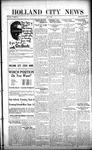 Holland City News, Volume 50, Number 33: August 11, 1921