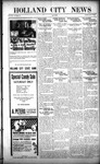 Holland City News, Volume 50, Number 34: August 18, 1921
