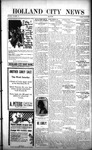 Holland City News, Volume 50, Number 35: August 25, 1921