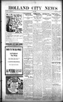 Holland City News, Volume 50, Number 37: September 8, 1921