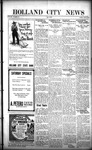 Holland City News, Volume 50, Number 39: September 22, 1921