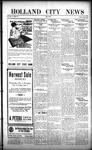 Holland City News, Volume 50, Number 40: September 29, 1921 by Holland City News