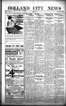 Holland City News, Volume 50, Number 44: October 27, 1921
