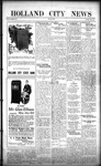 Holland City News, Volume 50, Number 46: November 10, 1921