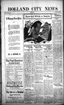 Holland City News, Volume 50, Number 53: December 29, 1921