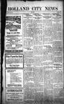 Holland City News, Volume 51, Number 1: January 5, 1922