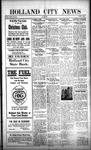 Holland City News, Volume 51, Number 3: January 19, 1922