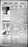 Holland City News, Volume 51, Number 11: March 16, 1922