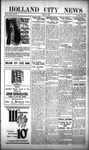 Holland City News, Volume 51, Number 21: May 25, 1922
