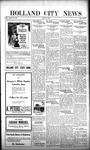 Holland City News, Volume 51, Number 30: July 27, 1922