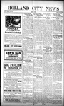 Holland City News, Volume 51, Number 31: August 3, 1922