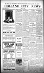 Holland City News, Volume 51, Number 37: September 14, 1922 by Holland City News
