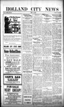 Holland City News, Volume 51, Number 45: November 9, 1922 by Holland City News