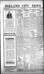 Holland City News, Volume 52, Number 4: January 25, 1923