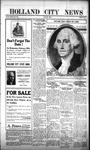 Holland City News, Volume 52, Number 8: February 22, 1923