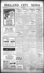 Holland City News, Volume 52, Number 22: May 31, 1923