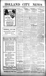 Holland City News, Volume 52, Number 29: July 19, 1923