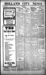 Holland City News, Volume 52, Number 34: August 23, 1923