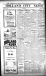 Holland City News, Volume 52, Number 37: September 13, 1923 by Holland City News