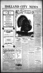 Holland City News, Volume 52, Number 48: November 29, 1923