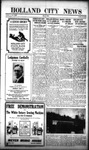 Holland City News, Volume 53, Number 18: May 1, 1924
