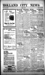 Holland City News, Volume 53, Number 33: August 13, 1924